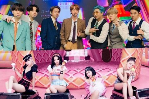 Blackpink dan BTS Bersaing di People's Choice Awards 2020