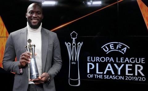 Romelu Lukaku Terpilih sebagai Pemain Terbaik Liga Europa