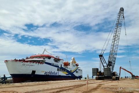 KMP Aceh Hebat 1 Segera Berlayar