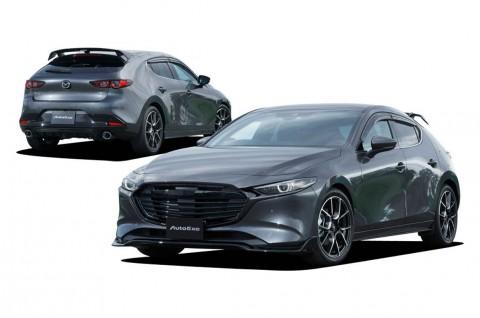 Kosmetik Auto Exe untuk Mazda3 Bikin Semakin Sporty
