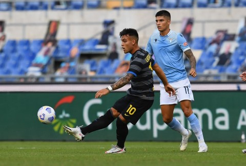 Lazio vs Inter: Kedua Tim Berbagi Angka
