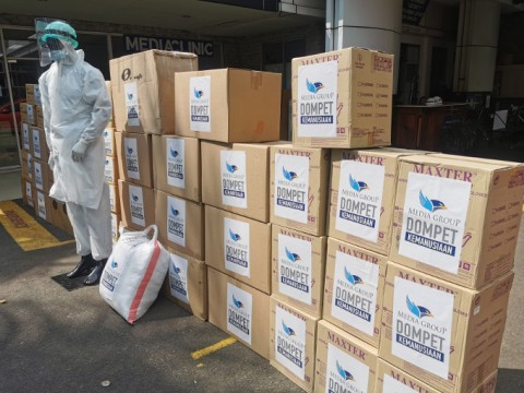 Dompet Kemanusiaan Media Group Salurkan Donasi Rp22,185 Miliar
