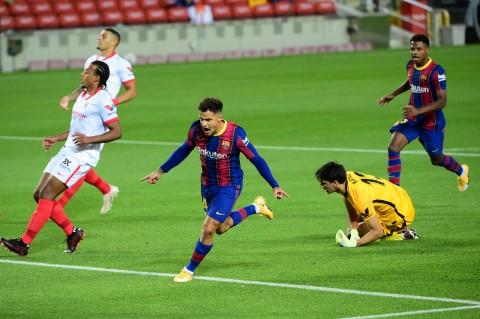 Barcelona Ditahan Imbang Sevilla 1-1