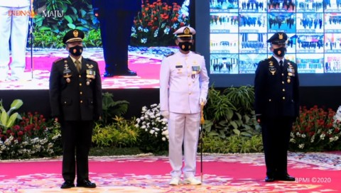 Tiga Prajurit TNI Dapat Penghargaan dari Jokowi