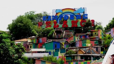 Kampung Pelangi, Warna-warni di Jantung Kota Semarang