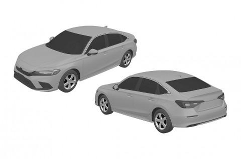 Bocoran Desain Honda Civic Gen 11, Tetap Ada Sedan & Hatchback
