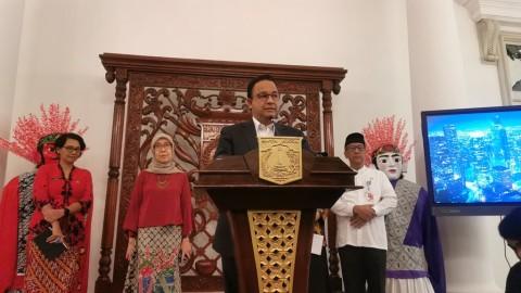 HUT ke-75, Anies Minta TNI Bersinergi Perangi Covid-19