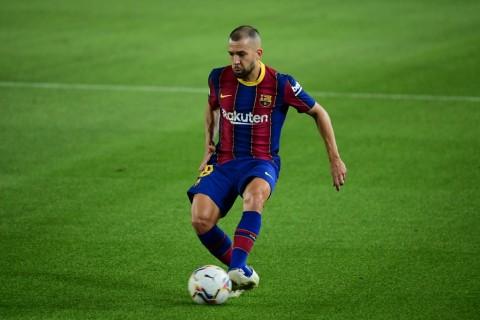 Barcelona Konfirmasi Jordi Alba Cedera Hamstring