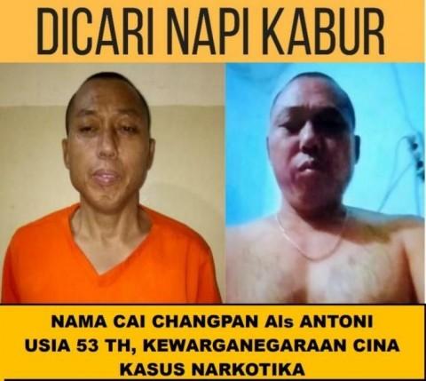 Dua Petugas Lapas Tangerang Tersangka Pelarian Cai Changpan