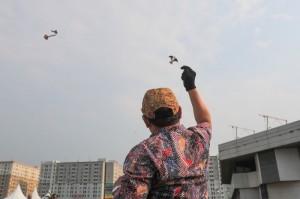 Gebyar Layang-layang Batik Kemendes PDTT Pecahkan Rekor Dunia