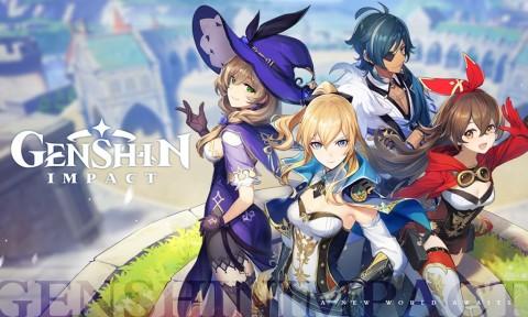 Genshin Impact Jadi Game Tiongkok Terlaris di Peluncuran Global