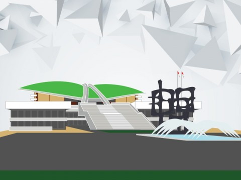 Satpol PP DKI Sidak Gedung DPR