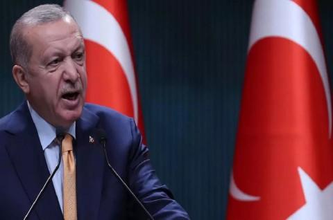 Erdogan Kecam Pandangan Macron soal Sekularisme dan Islam