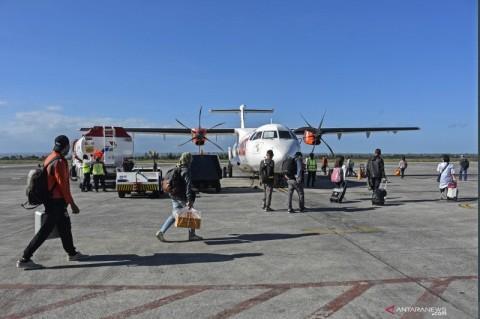 Penumpang di Bandara Lombok Naik Tiga Kali Lipat