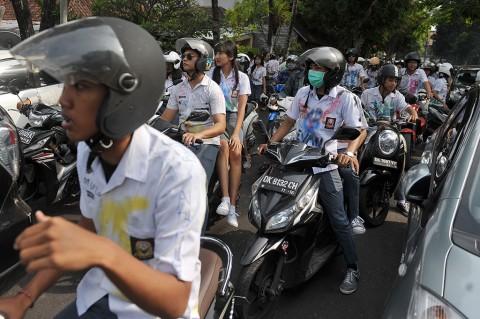 Hendak ke DPR, 80 Pelajar SMK/SMA di Tangerang Dijaring