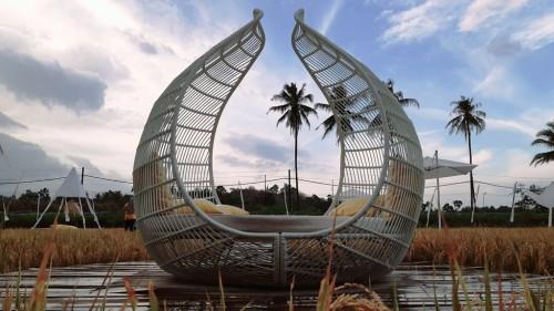 SvargaBumi hadir untuk menaikkan level persawahan di dunia pariwisata Indonesia. (Foto: A. Firdaus)