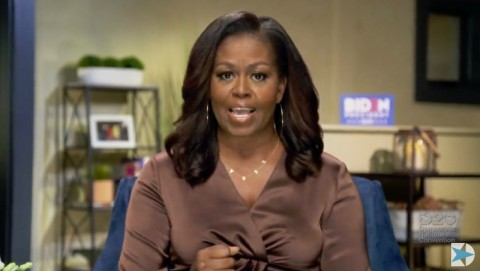 Michelle Obama Sebut Trump Rasis dalam Video Kampanye Biden