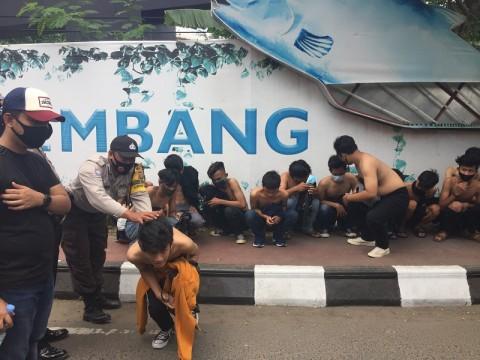 Pelajar hingga Pengangguran Susupi Aksi di Palembang