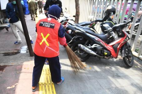 1.051 Pelanggaran PSBB Bidang Transportasi Terjaring Razia di Jaksel