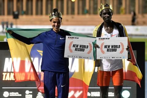 Dua Rekor Dunia Lari Pecah di Valencia World Record Day