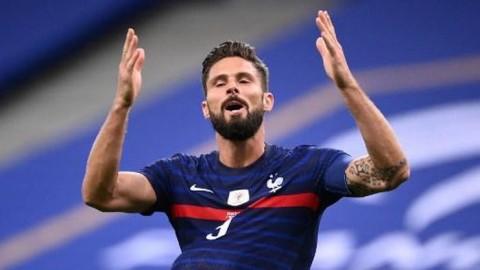 Lewati Platini, Giroud Jadi Pencetak Gol Terbanyak Kedua Timnas Prancis