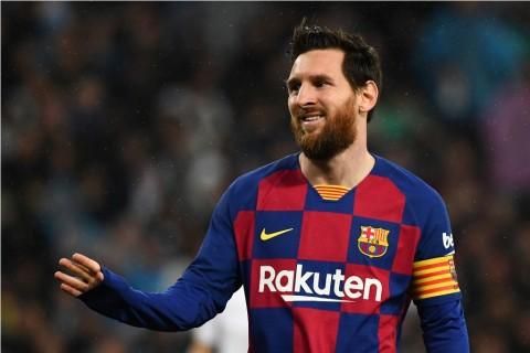 Pelatih Argentina Senang Messi Bertahan di Barcelona