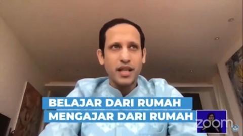 Tujuh Tips Nadiem Saat PJJ, Guru Diminta Saling 'Menyontek'