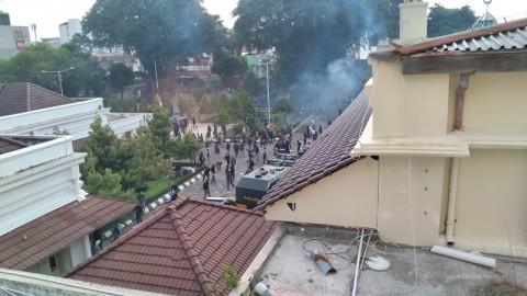 Kericuhan Tolak UU Ciptaker di Yogyakarta Berlangsung Berjam-jam
