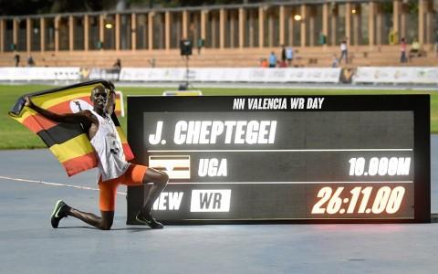 Joshua Cheptegei Belum Berhenti Pecahkan Rekor Lari