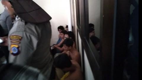 45 Pedemo Tolak UU Ciptaker di Yogyakarta Ditangkap