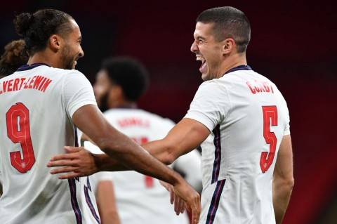 Inggris Tekuk Wales 3-0, Calvert-Lewin Cetak Gol Debut