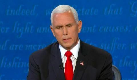 Usai Debat, Wapres AS Mike Pence Dites Negatif Covid-19