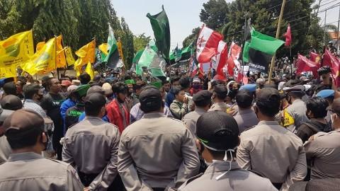25 Pedemo Tolak UU Ciptaker di Cirebon Reaktif Covid-19