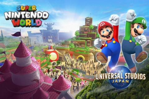 Taman Hiburan Super Nintendo World Dibuka 2021