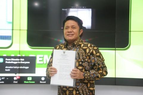 Herman Deru Dinobatkan sebagai Pembina K3 Nasional