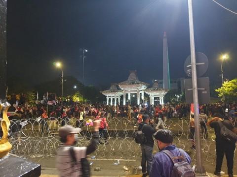 620 Pedemo Surabaya Malang Dibebaskan, 14 Lainnya Jadi Tersangka