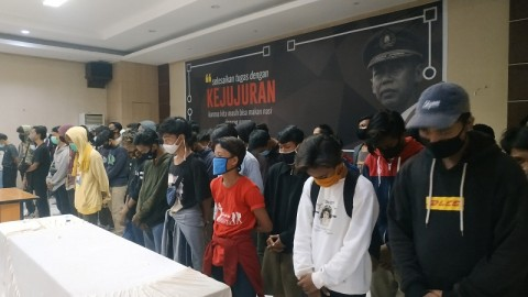 116 Orang Ditangkap saat Aksi Omnibus Law di Bekasi