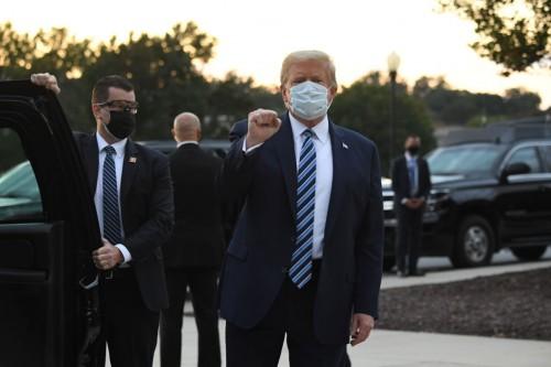 Presiden Amerika Serikat Donald Trump. (Foto:  AFP PHOTO/Saul Loeb)