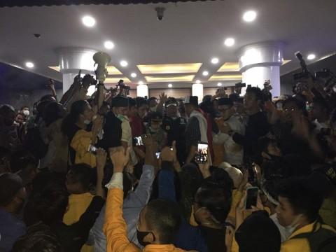 Gubernur Sumsel Bawa Aspirasi Mahasiswa soal UU Cipta Kerja ke Jokowi