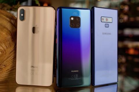 Samsung, Huawei, dan Apple Kapalkan Ponsel Terbanyak di Q2 2020