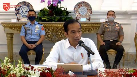 Jokowi Jamin Keterbukaan Penyusunan Aturan Turunan UU Ciptaker