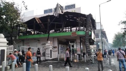 Kebakaran Restoran Legian saat Aksi di Yogyakarta Diselidiki