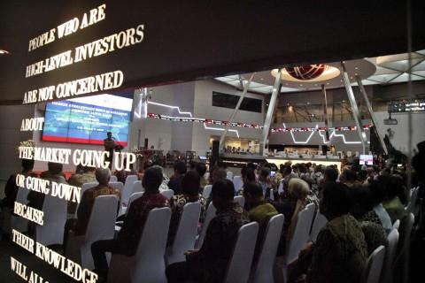 UU Cipta Kerja Diketuk, Transaksi Harian Bursa Tembus Rp8,335 Triliun
