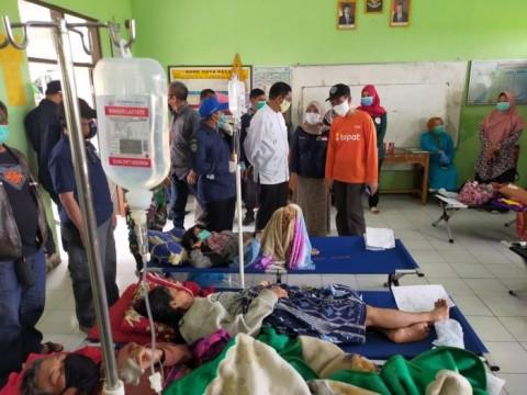 Korban Keracunan Nasi Kuning di Tasikmalaya Jadi 205 Orang