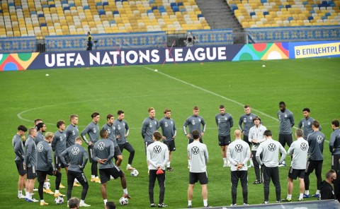 Jadwal Pertandingan UEFA Nations League: Ukraina vs Jerman hingga Spanyol vs Swiss