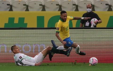 Hasil Kualifikasi Piala Dunia 2022: Brasil Cukur Bolivia, Kolombia Bungkam Venezuela