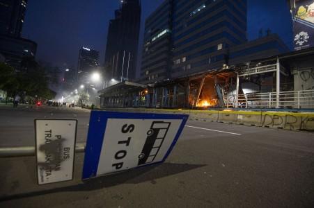 Perbaikan 46 Halte TransJakarta Ditargetkan Rampung Lima Pekan