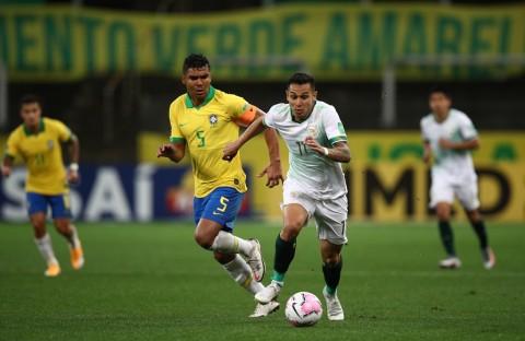 Casemiro: Kemenangan 5-0 atas Bolivia Bukti Brasil tidak Main-main