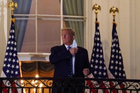 Sepekan Terinfeksi Covid-19, Trump Klaim Sudah Bebas Obat