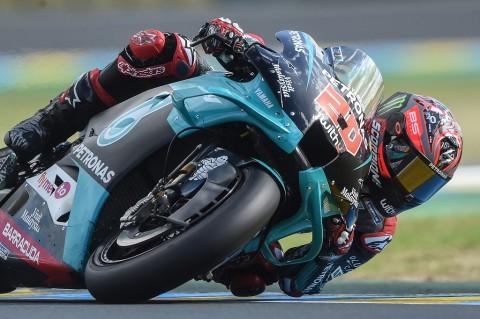 Quartararo Tercepat di Kualifikasi MotoGP Prancis